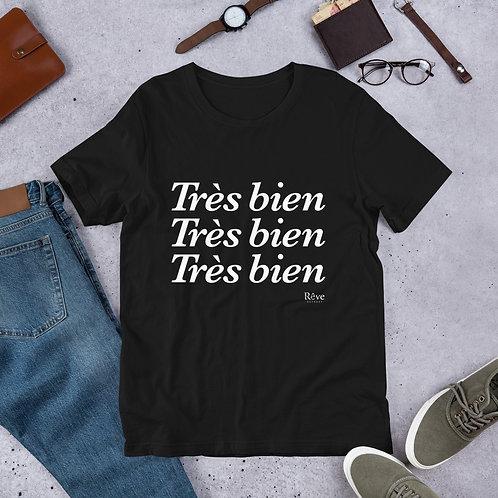 Tres bien - Short-Sleeve Unisex T-Shirt
