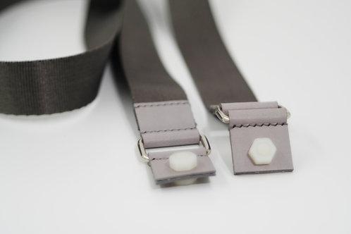 W-102' Straps - Grey