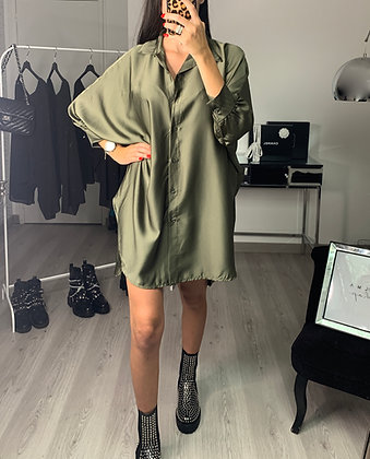 Robe chemise - MODÈLE MAYLI