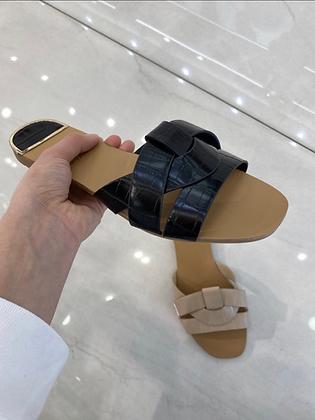 Sandales - MODÈLE CROCO