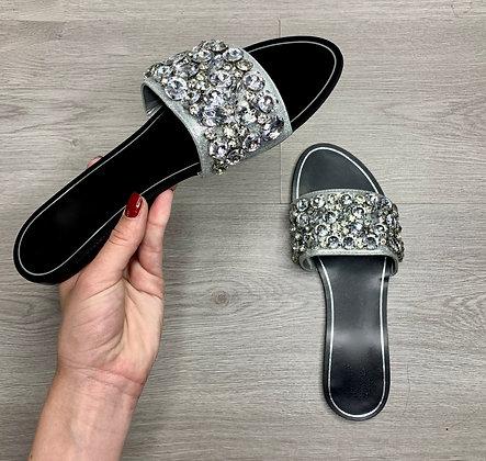 Sandales - MODÈLE STRASS