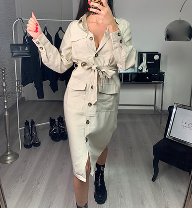 Robe chemise - MODÈLE AMIRA