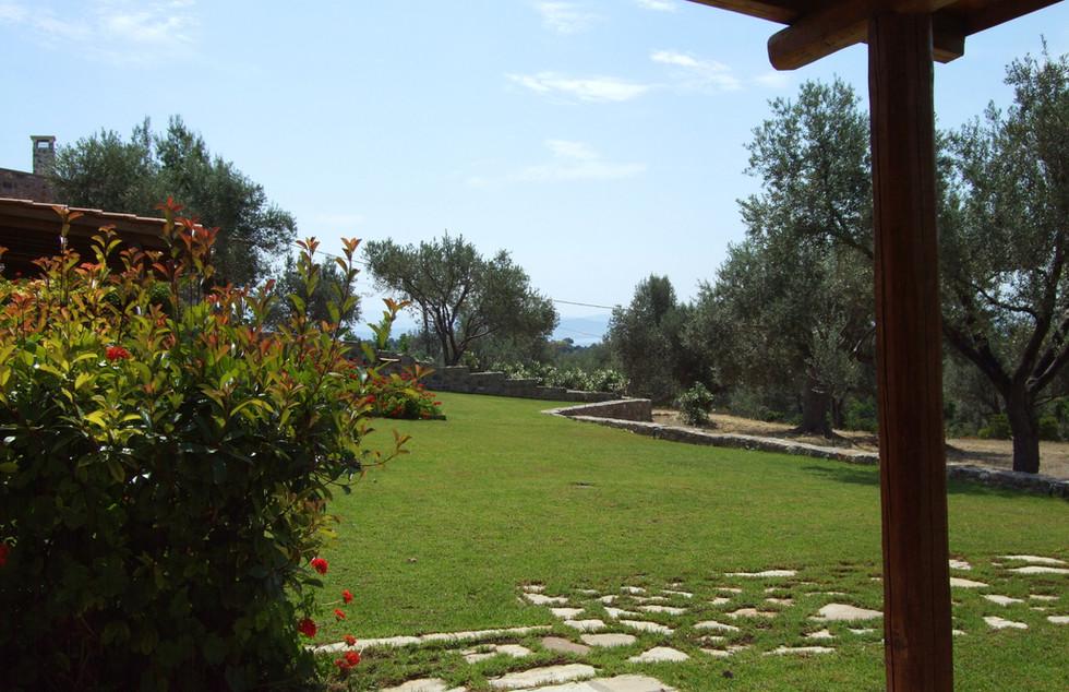 Garden Veranda View