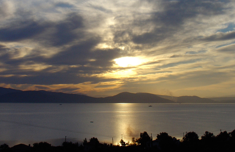 Sea Sunset View