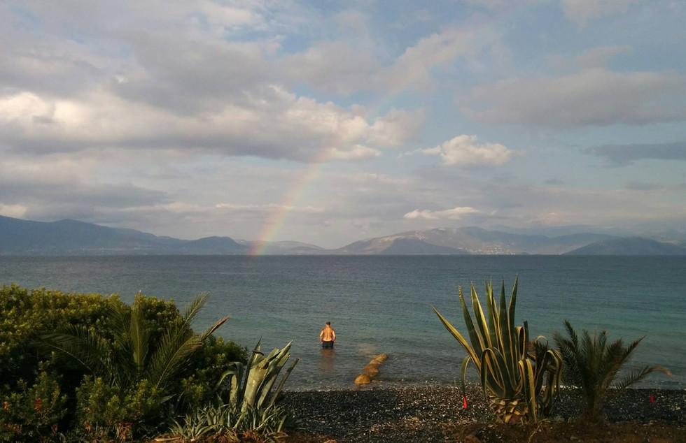 Alilea Beach Rainbow