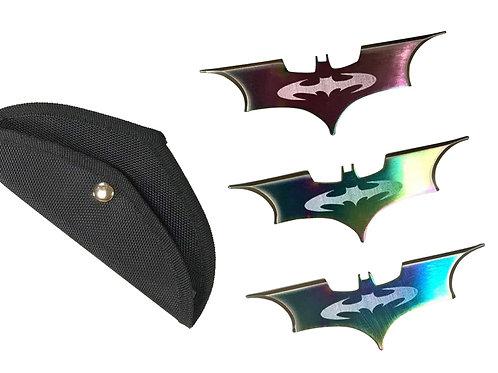 סט עטלפי הטלה - צבעוני