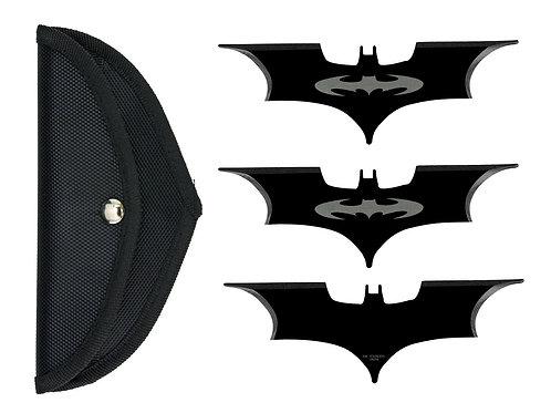 סט עטלפי הטלה - שחור