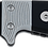 Thumbnail: Utica Fixed 9.5 Black Powder Coated & Micarta Handle