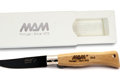 MAM Pocket Knife with Black Titanium Blade - Douro
