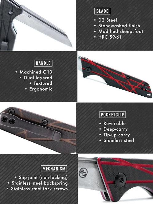 LEDGE SLIPJOINT EDC KNIFE
