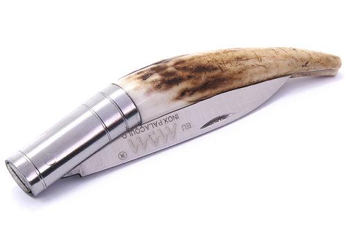 MAM Pocket Knife With Deer Horn Handle - 65mm
