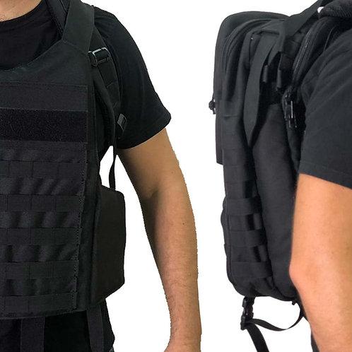 Masada – Bulletproof Tactical Backpack Full Body Armor/Bulletproof Vest (IIIA)