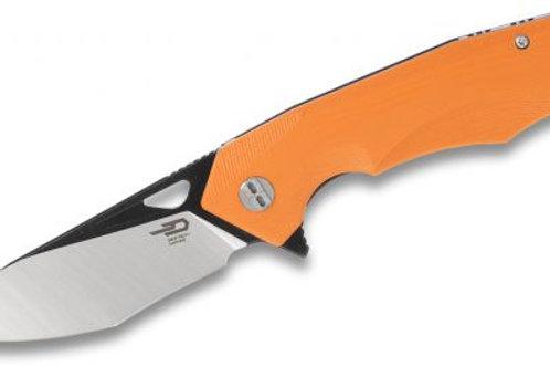 Bestech Toucan BG14D-2 Two-Tone Orange G10