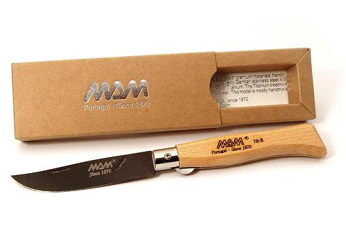 MAM Pocket Knife with Black Titanium Blade - Douro