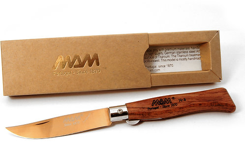 MAM Pocket Knife with Bronze Titanium Blade - Douro