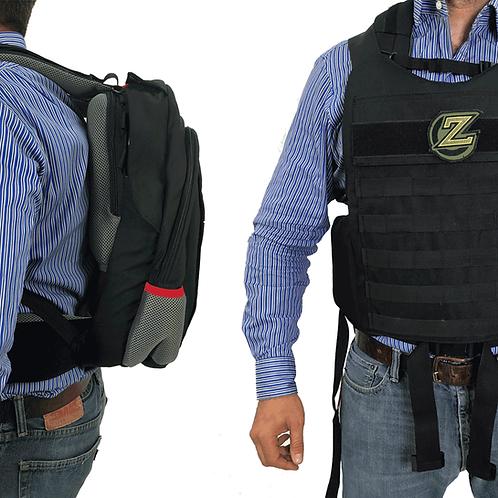 Masada – Bulletproof Backpack Full Body Armor/Bulletproof Vest (IIIA)