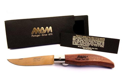 MAM Pocket Knife with Bronze Titanium Blade - Iberica