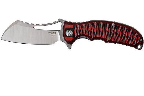 Bestech Hornet BG12B Black & Red G10
