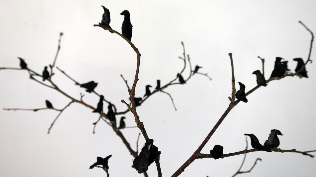 paper crows