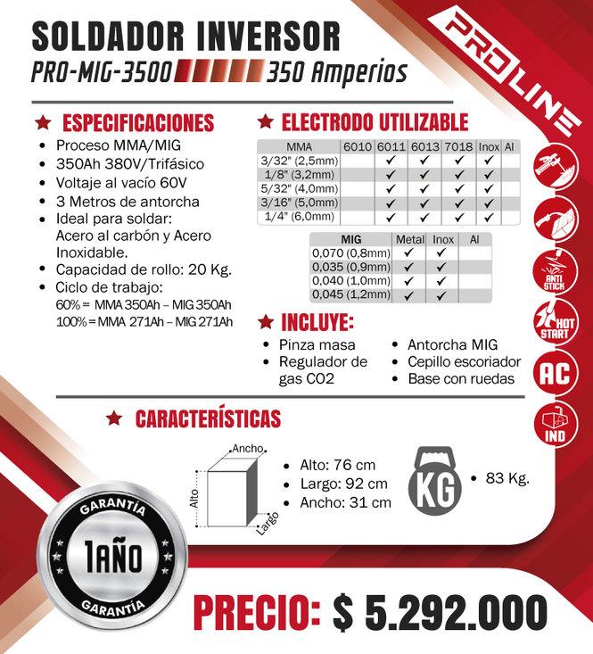 SOLDADOR-PROLINE-PROCESO-MMA-MIG-350-AMP