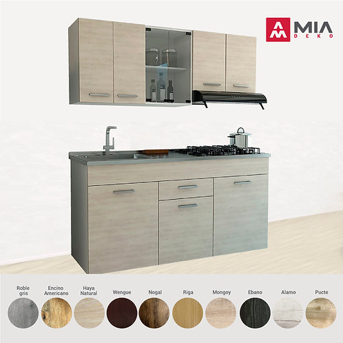 Muebles para Cocina, Texturizado 3D
