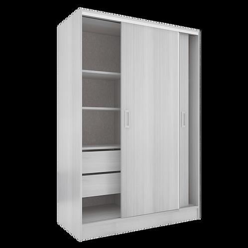 Closet Sencillo, Texturizado 3D de 152 cm X 230 cm X 60 cm