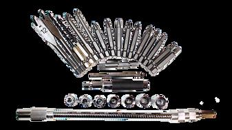 Set de puntas para atornillador Tecraft Industry