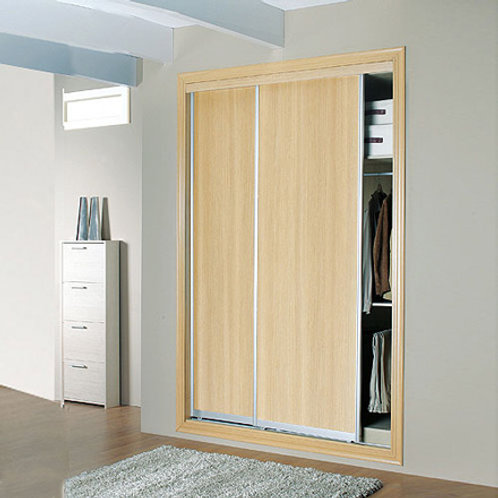 Closet Completo, Texturizado 3D de 152 cm X 230 cm X 60 cm