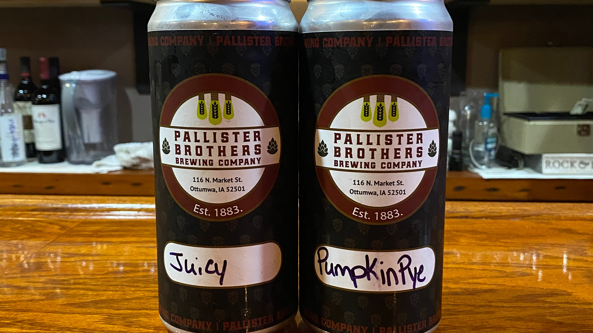 Crowler Cans with Logo