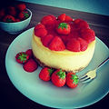 Strawberry Kiss Erdbeeren angies cheesecake