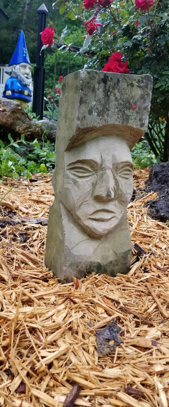 Unique Rock Carving