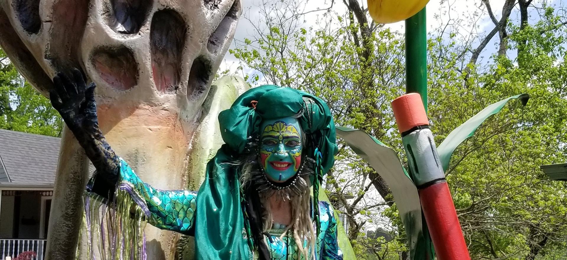 Grand prize Parade Float