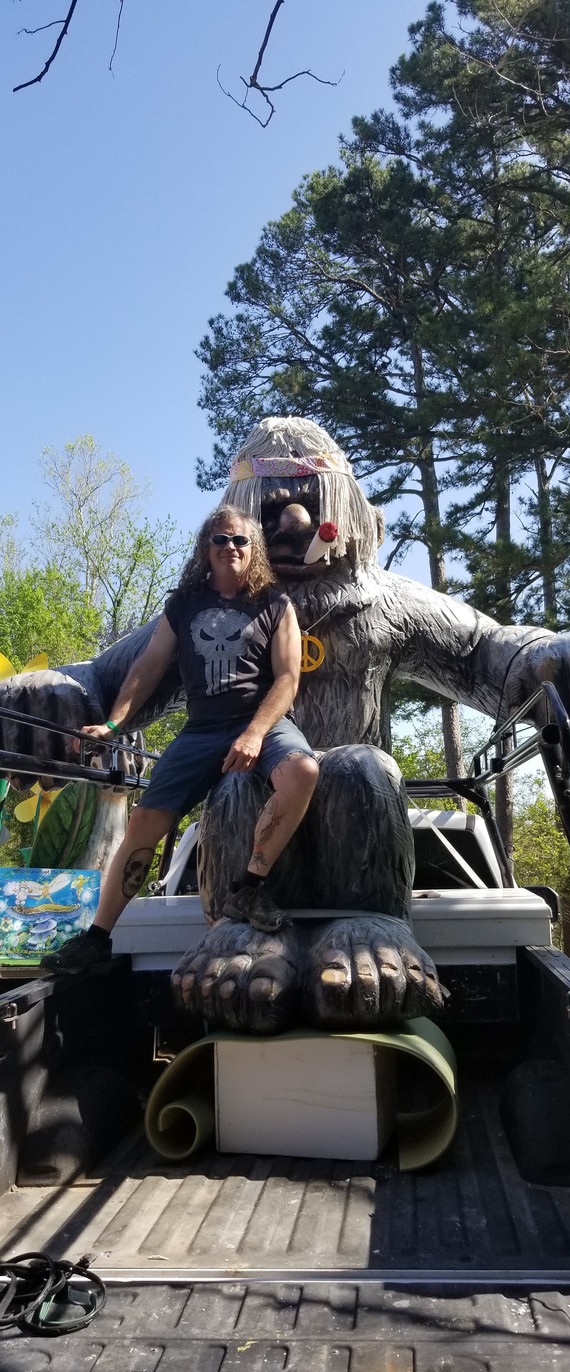 Bigfoot/Sasquatch Dressing up