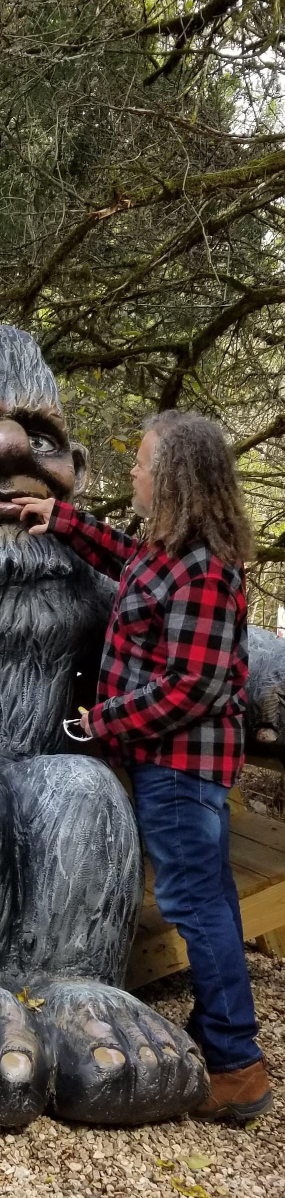 Bigfoot at Lake Leatherwod