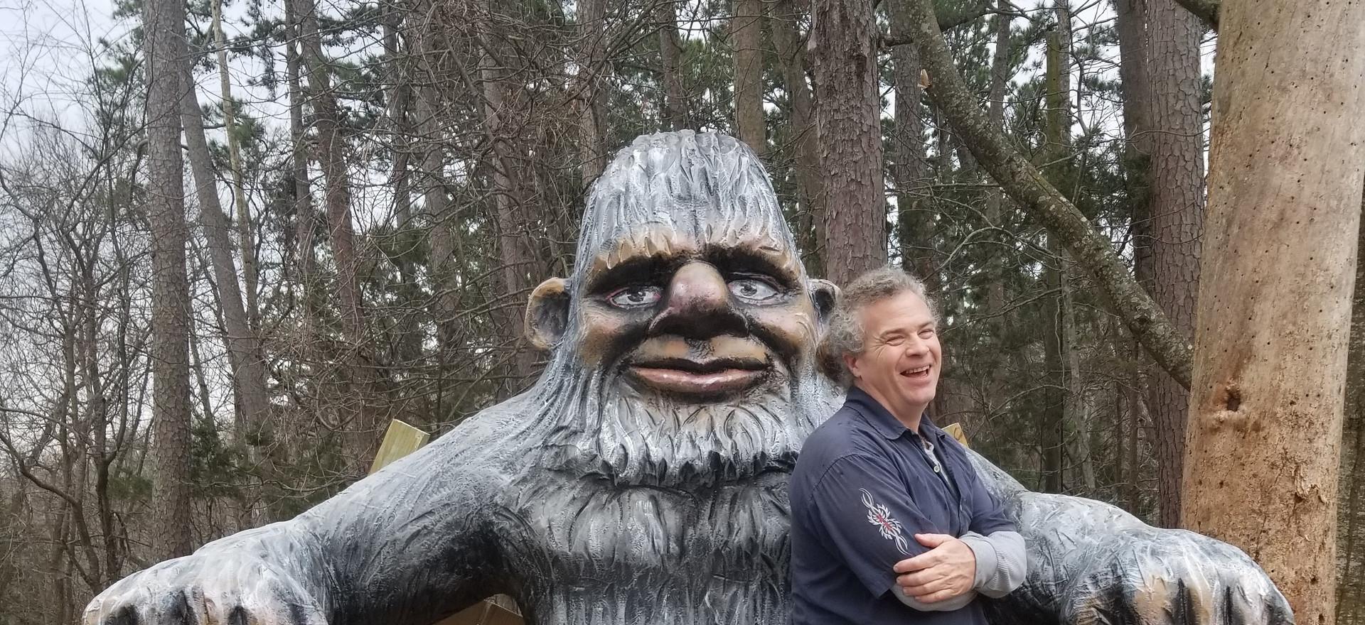 Bigfoot Broken Bench