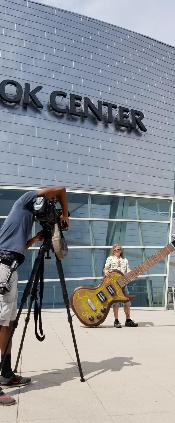 Fun interview with Tulsa TV station