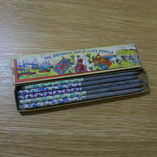 1870年代不列顛牌石筆 - Britannia Slate Pencils, 1870s