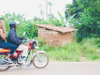 Navigating these Ugandan streets