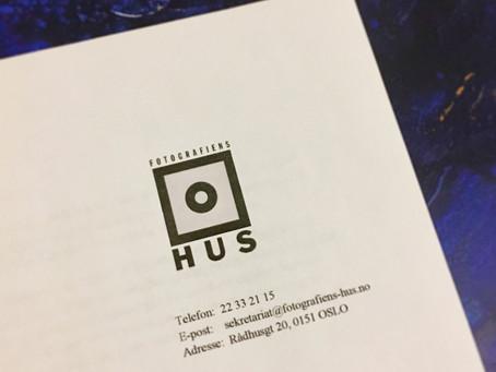 Utstilling i Fotografiens Hus 2018