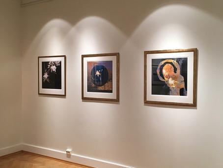 Montering av utstilling i Skedsmo Kunstforening