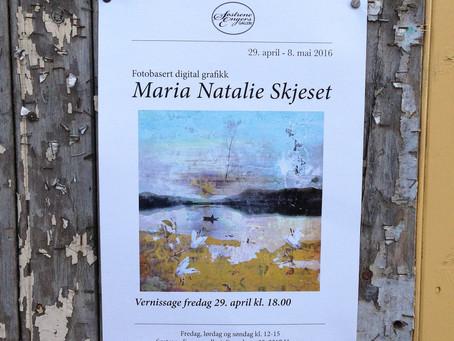 Solo Exhibition at Søstrene Engers Galleri, Hamar