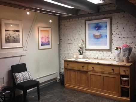 Separatutstilling i Søstrene Engers galleri