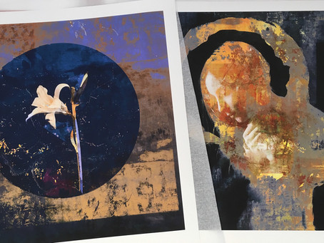 Sneak peek of prints for upcoming solo exhibition