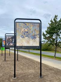 En sommerfugl– byromskunst 2020, Hamar kommune