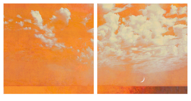 Crescent Moon (diptych)