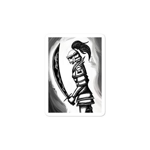 Undead Warrior Stickers