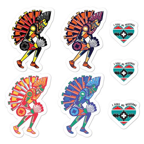 Powwow Radiowave Bundle Stickers