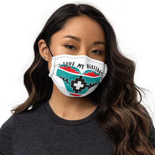 I Love My Heritage Mask