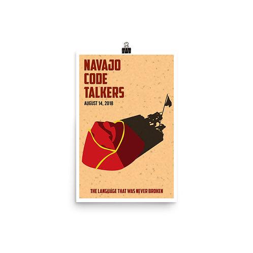 Navajo Code Talkers Poster