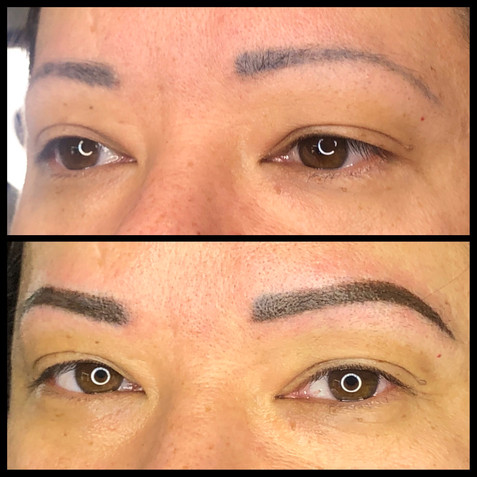 Coverup with Powder Brow